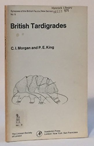 9780125069502: British Tardigrades (Synopses of the British fauna)