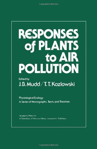 9780125094504: Responses of Plants to Air Pollution (Physiological Ecology)