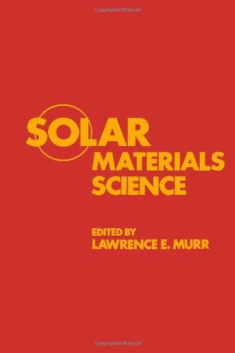 9780125111607: Solar Materials Science