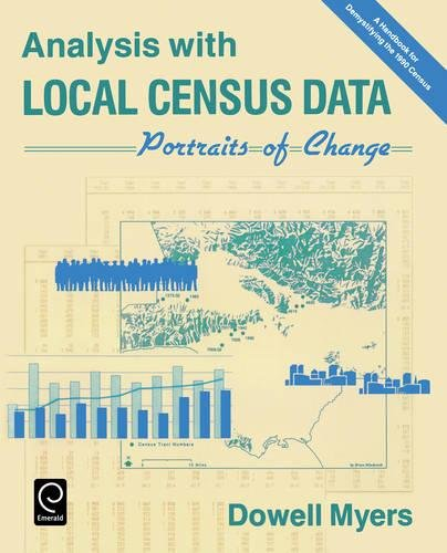 9780125123082: Analysis with Local Census Data: Portraits of Change