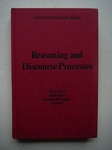 9780125123204: Reasoning and Discourse Processes (Cognitive Science)