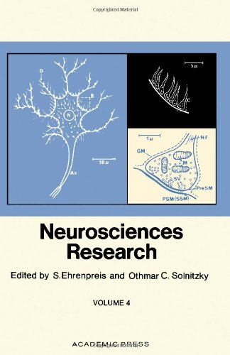 9780125125048: Neurosciences Research: v. 4