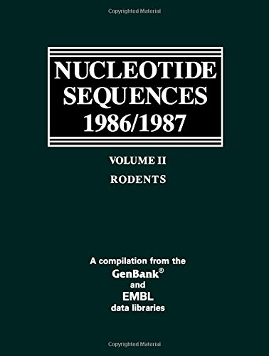 9780125125123: 002: Nucleotide Sequences 1986/1987: Rodents