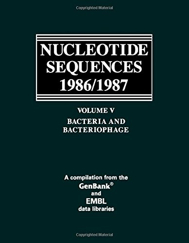 9780125125154: Nucleotide Sequences 1986/87 V5: Bacteria and Bacteriophage / Compiled by Edwin J. Atencio.: 005
