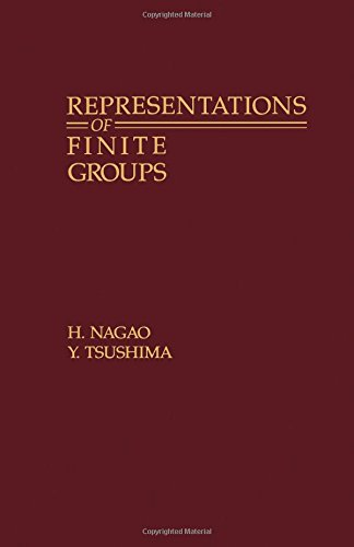 9780125136600: Representations of Finite Groups