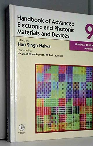 Nonlinear optical materials (Handbook of advanced electronic and photonic materials and devices): n...