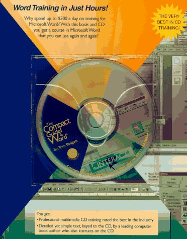 9780125138352: Compact Guide to Word (Compact Guide Training Series)