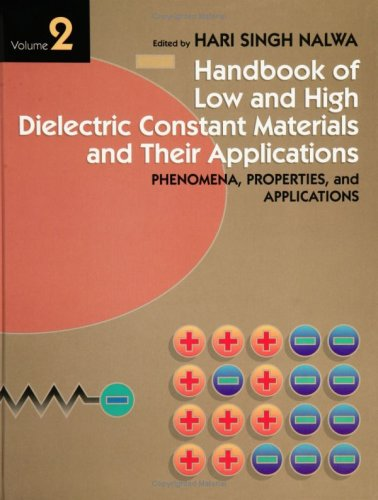 9780125139069: Low and High Dielectric Constant Materials