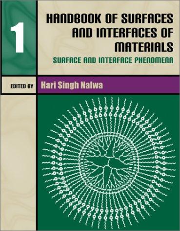Handbook of Surfaces and Interfaces of Materials: Nalwa, Hari Singh