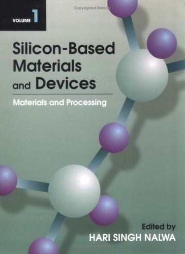 9780125139182: Silicon-Based Materials and Devices, Vol. 1: Materials and Processing