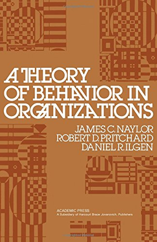 9780125144506: Theory of Behaviour in Organizations