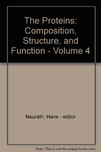 9780125162647: The Proteins: Composition, Structure, and Function - Volume 4