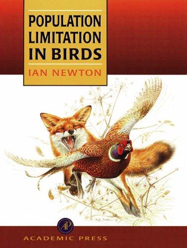 9780125173650: Population Limitation in Birds