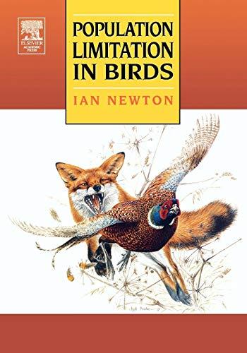 9780125173667: Population Limitation in Birds