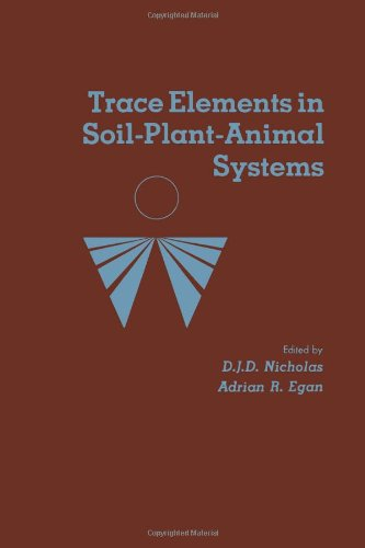9780125181501: Trace Relationships in Soil-Plant Animanl Systems