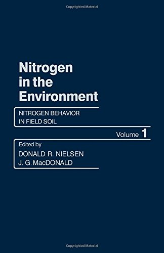 9780125184014: Nitrogen in the Environment: Nitrogen Behaviour in Field Soil v. 1