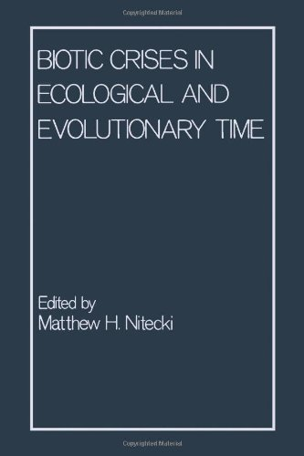 9780125196406: Biotic Crises in Ecological and Evolutionary Time