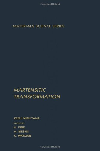 9780125198509: Martensitic Transformation (Materials science and technology)