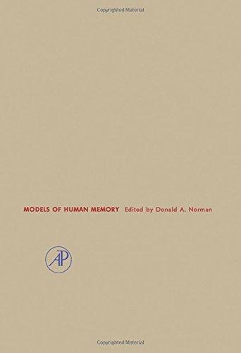 9780125213509: Models of Human Memory