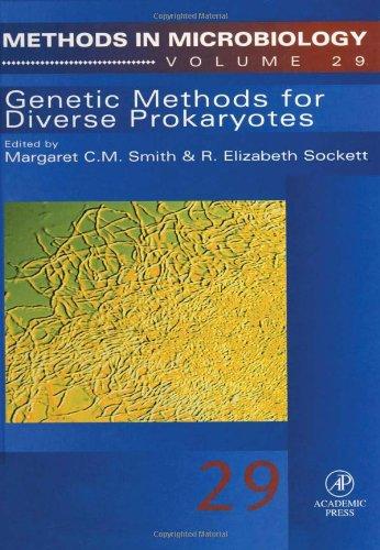 9780125215299: Genetic Methods for Diverse Prokaryotes, Volume 29 (Methods in Microbiology)
