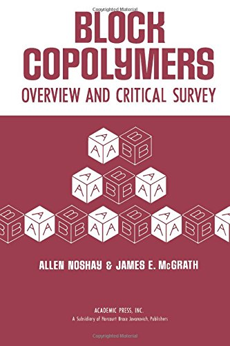 9780125217507: Block Copolymers: Overview and Critical Survey