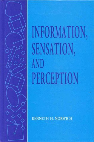 9780125218900: Information, Sensation, and Perception