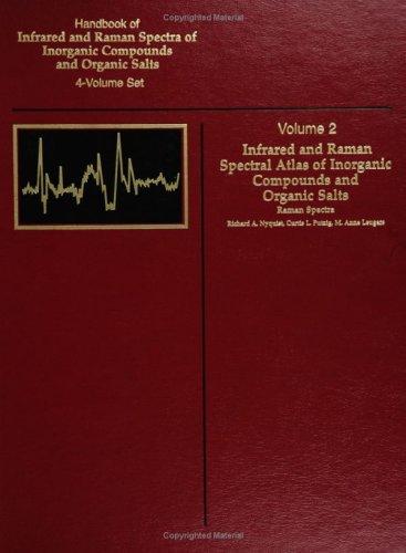 9780125234467: Handbook of Infrared and Raman Spectra of Inorganic Compounds and Organic Salts: Raman Spectra, Vol. 2