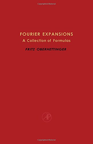 9780125236409: Fourier Expansions: A Collection of Formulas