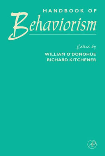 9780125241908: Handbook of Behaviorism