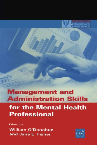 9780125241953: Management and Administration Skills for the Mental Health Professional (Practical Resources for the Mental Health Professional)