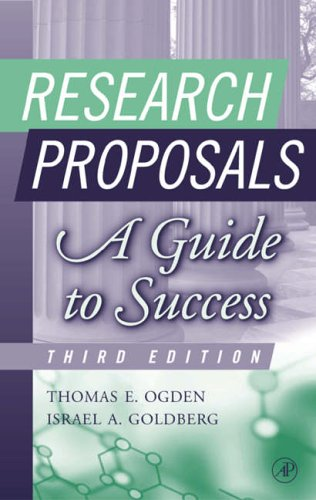 9780125247337: Research Proposals: A Guide to Success