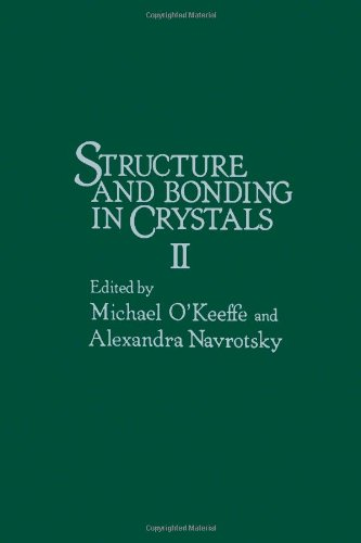 9780125251020: Structure and Bonding in Crystals: v. 2