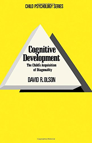 9780125256506: Cognitive Development: The Child's Acquisition of Diagonality (Child Psychology Series)