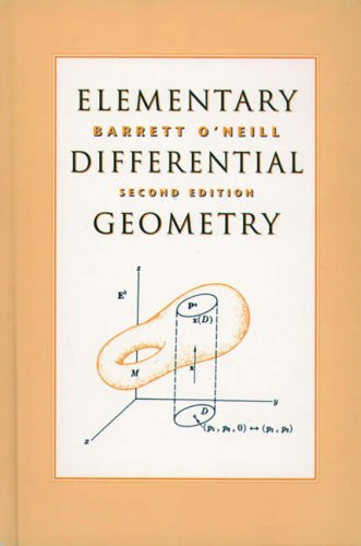 9780125267458: Elementary Differential Geometry