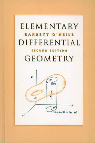 9780125267458: Elementary Differential Geometry, Second Edition