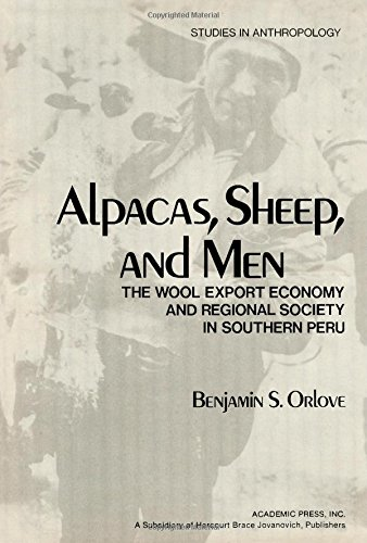 9780125278508: Alpacas, Sheep and Men: Wool Export Economy and Regional Society in Southern Peru (Studies in Anthropology)