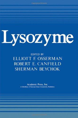 9780125289504: Lysozyme