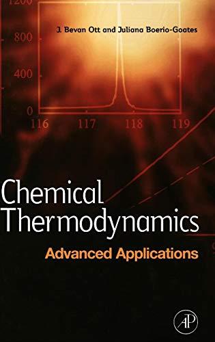 9780125309851: Chemical Thermodynamics: Advanced Applications
