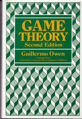 9780125311502: Game Theory