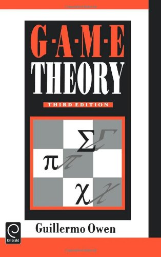 9780125311519: Game Theory