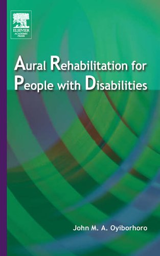 9780125317856: Aural Rehabilitation for People with Disabilities