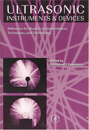 9780125319515: Ultrasonic Instruments and Devices