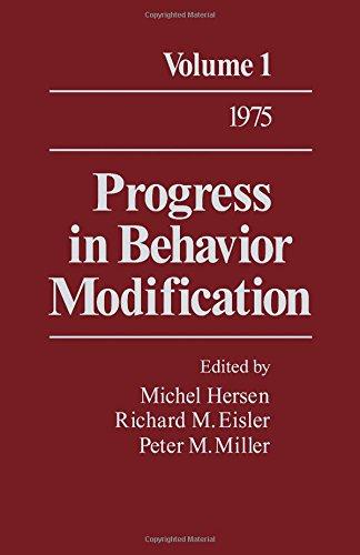 9780125356015: Progress in Behavior Modification, Vol. 1