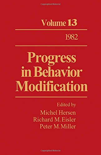 9780125356138: Progress in Behaviour Modification: v. 13