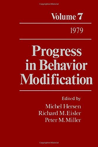 9780125356152: Progress in Behavior Modification