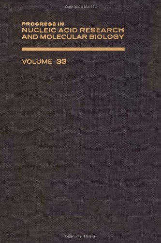 9780125400336: PROG NUCLEIC ACID RES&MOLECULAR BIO V33, Volume 33 (Progress in Nucleic Acid Reasearch)