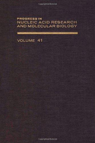 9780125400411: PROG NUCLEIC ACID RES&MOLECULAR BIO V41, Volume 41 (Progress in Nucleic Acid Reasearch)