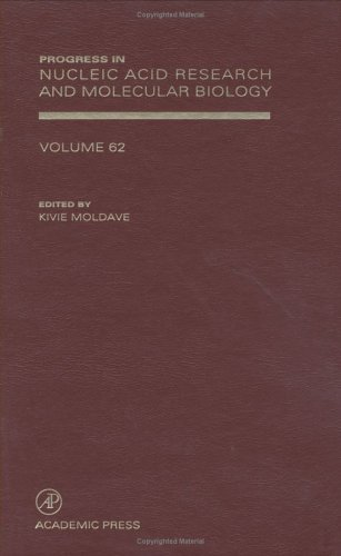 9780125400626: Progress in Nucleic Acid Research and Molecular Biology, Volume 62