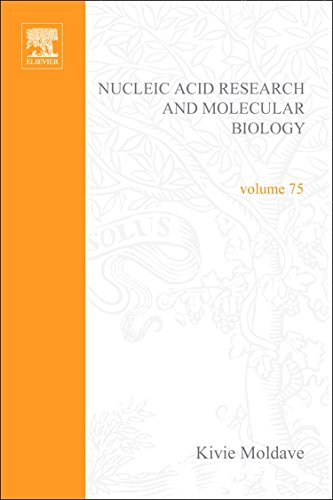 9780125400756: Progress in Nucleic Acid Research and Molecular Biology: Volume 75