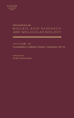 9780125400763: Progress in Nucleic Acid Research and Molecular Biology, Volume 76: Subject Index Volume (40-72) (Progress in Molecular Biology & Translational Science)